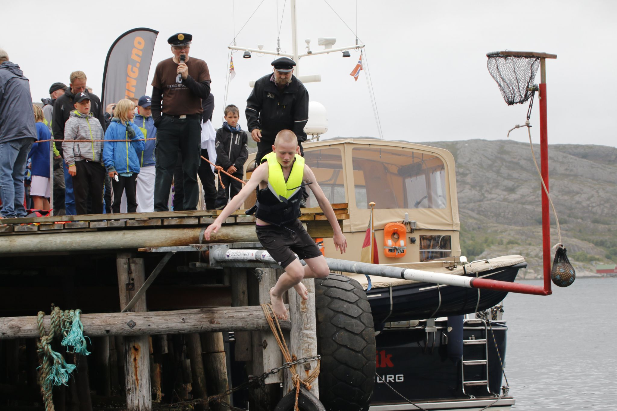 Fiskefestivalen på Bessaker 2016 - konkurranse Stanga