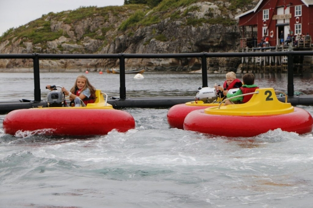 Fiskefestivalen på Bessaker 2016 - Kræsjbåter