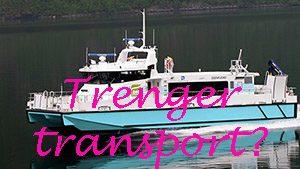 Trenger transport?